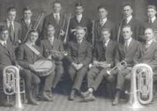 1917 Nebraska Normal College Band