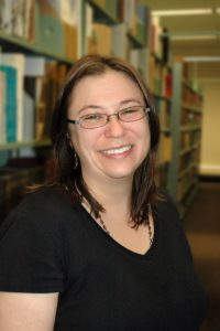 Allison Badger, NLC Staff, Cataloger
