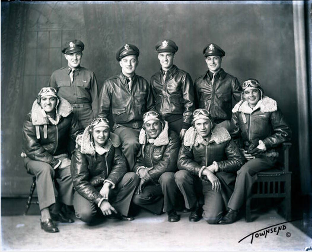 Lieutenant M.J. Coulter bomber crew group
