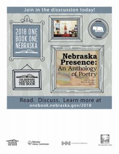 2018 One Book One Nebraska Poster