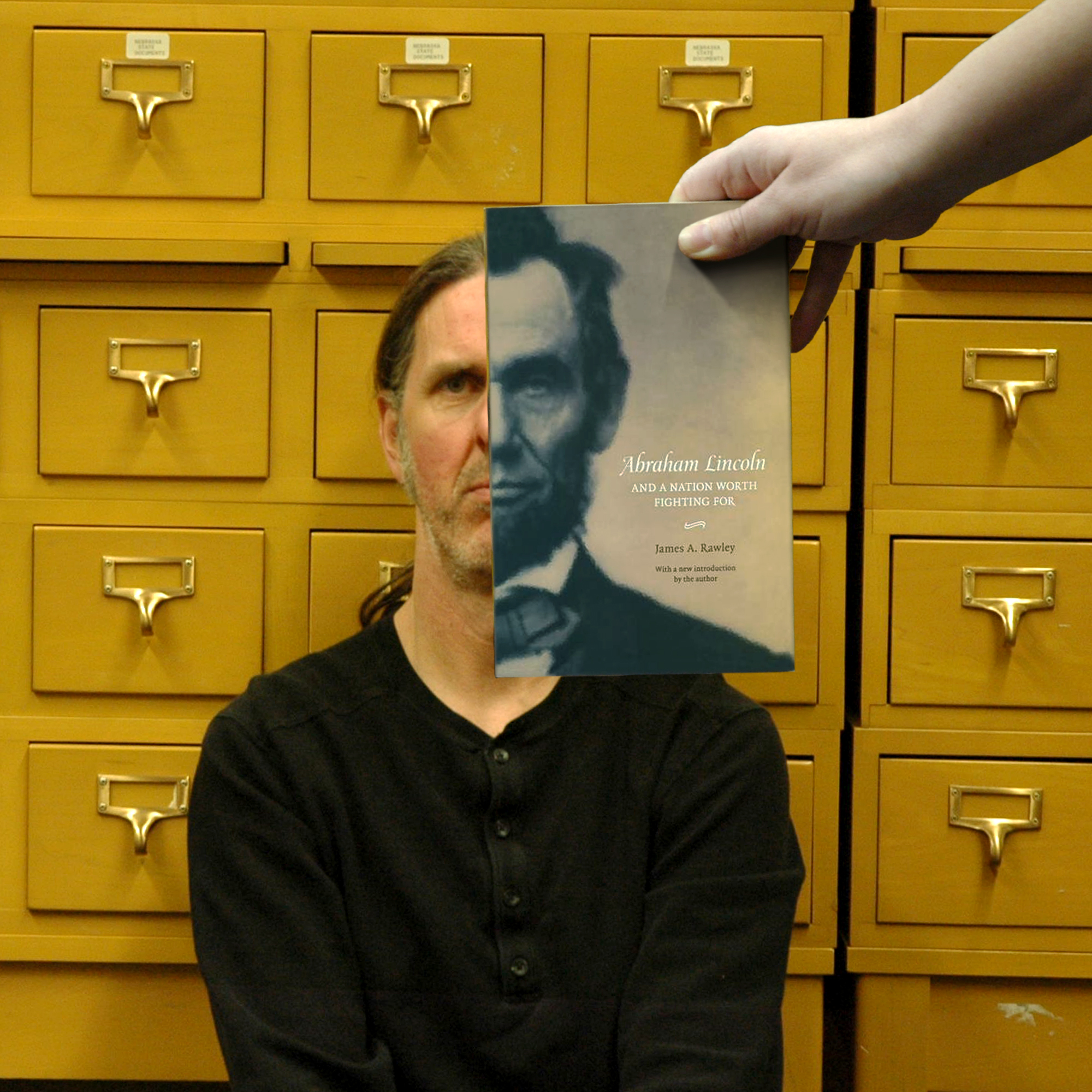 """Abraham Lincoln and a Nation Worth Fighting For"" BookFace Image"