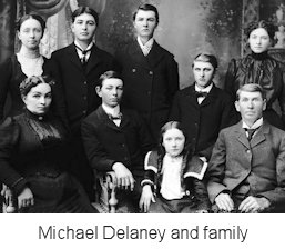 Michael Delaney and family