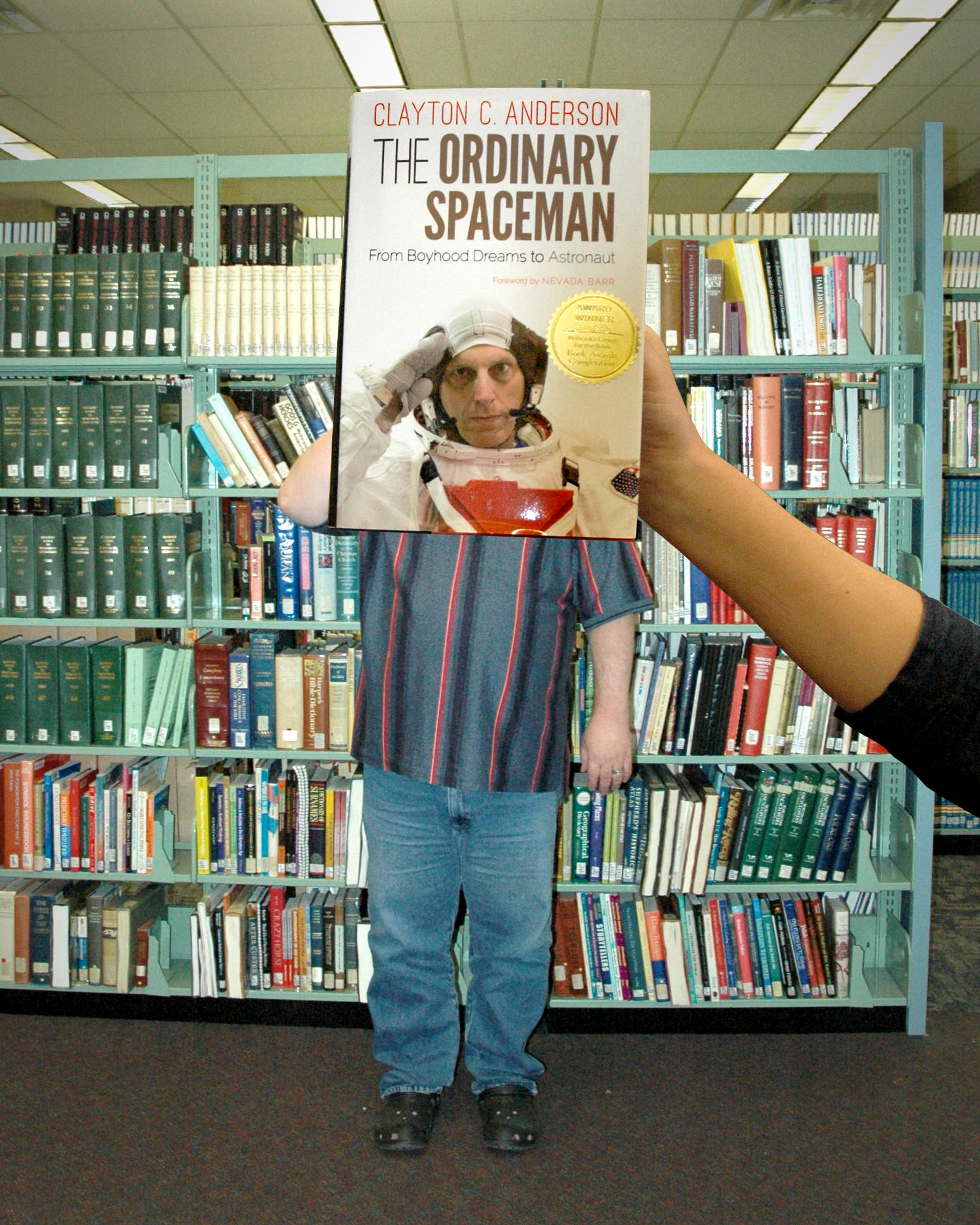 """The Ordinary Spaceman"" BookFace"