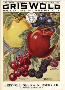 Griswold Seed & Nursery Co. Spring 1928 catalog