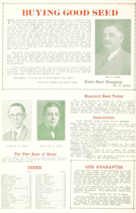 Gunn's new catalog - 1927