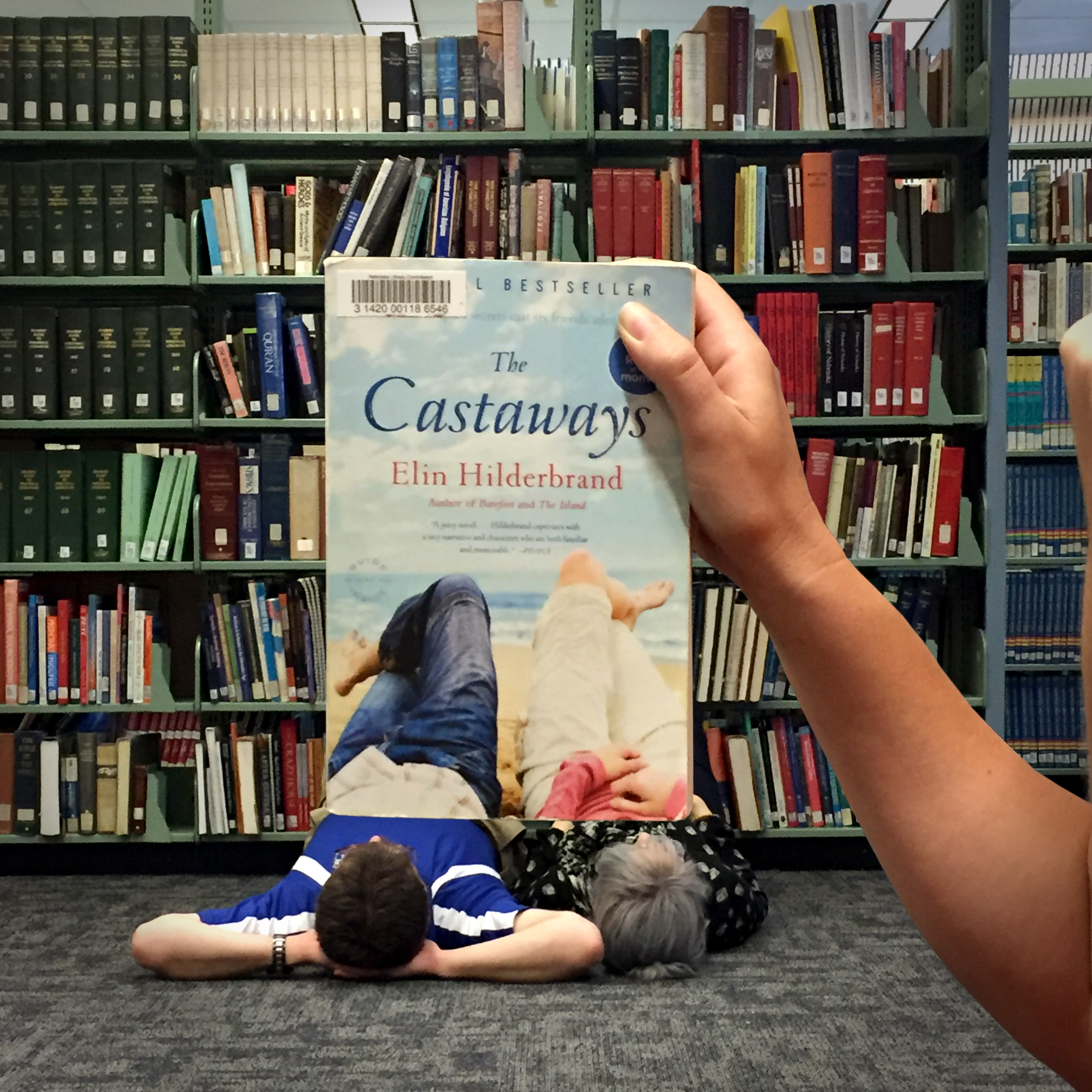 """The Castaways"" BookFace"