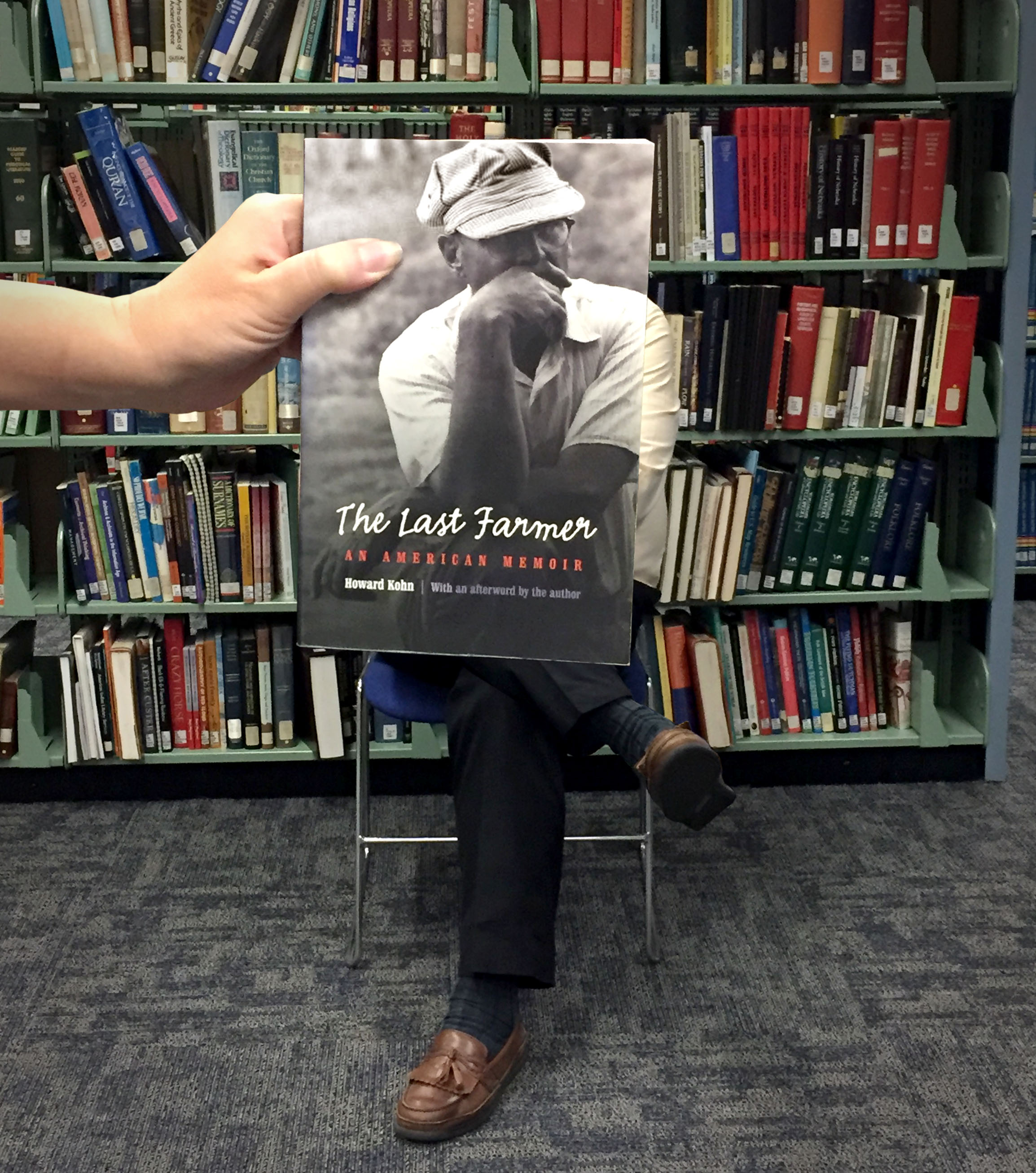 """The Last Farmer"" BookFace Photo"