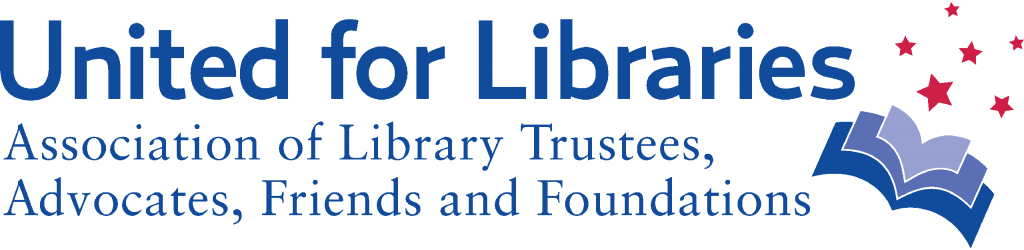 Logo: United for Libraries Association of Library Trustees, Advocates, Friends and Foundations